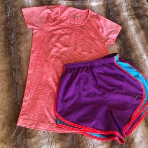 Nike DRI-FIT outfit Womens XS